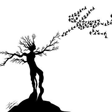 Nature Love (Black) by Jairoguarin