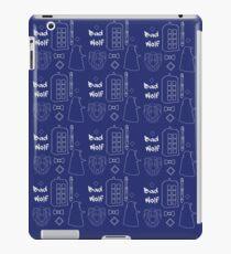 Dr Who Pattern iPad Case/Skin