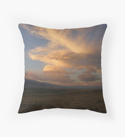 Spring Valley Sunset Throw Pillow