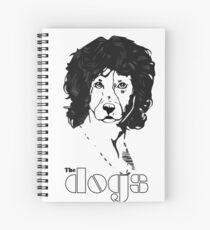 The Dogs  - JIm Doggison  Spiral Notebook