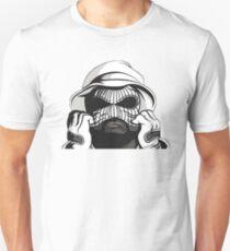 Schüler Q Skimaske Slim Fit T-Shirt