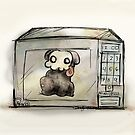 who put the puppy in the microwave? by bahgoesthesheep