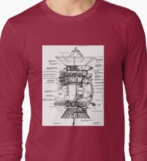NASA - Cassini-Huygens Probe Diagram T-Shirt