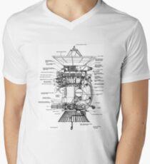 NASA - Cassini-Huygens Probe Diagram T-Shirt