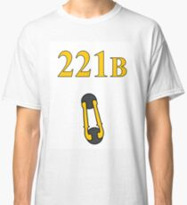 Sherlock 221B Door with knocker (Crooked) Classic T-Shirt