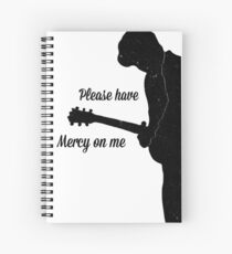 Shawn Mendes mercy Spiral Notebook