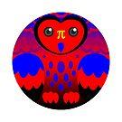 Polyamory Pride Owl by FurvaNoctua