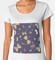 Colourful Butterfly  Women's Premium T-Shirt