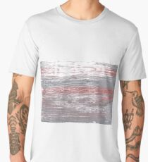 Spanish gray abstract watercolor background Men's Premium T-Shirt