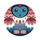 Nebularomantic Pride Owl by FurvaNoctua