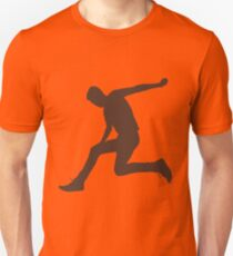 Jumping Man - grey T-Shirt