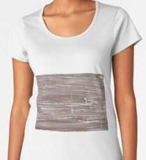 Cinereous abstract watercolor background Women's Premium T-Shirt
