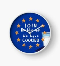 Join the blue side! Clock