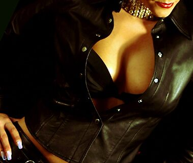 leather breasts by kitza