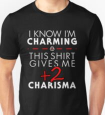 Charismatic Unisex T-Shirt- Dungeons and Dragons T-Shirt