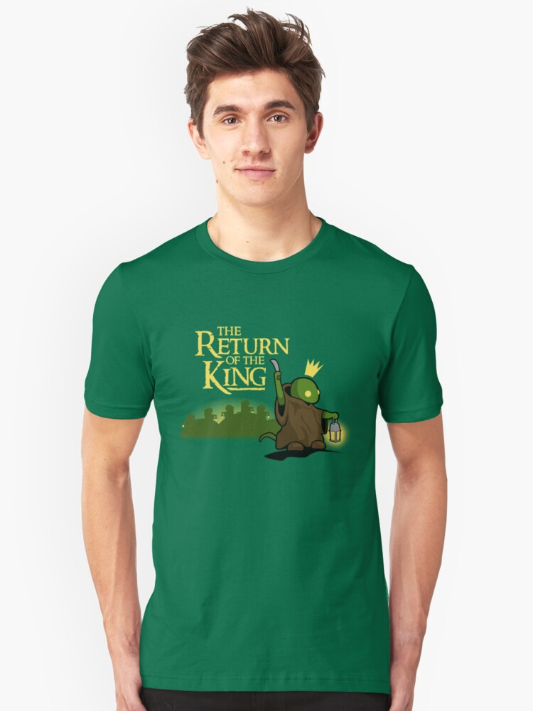Return of the King Unisex T-Shirt Front