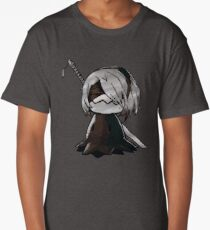 2B Mimikyu - Nier Automata Pokemon Long T-Shirt