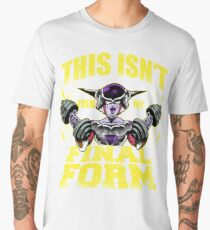 this isn't even my final form 1st ssj saiyan gym workout warrior Men's Premium T-Shirt