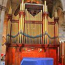 Church Organ by Tom Gomez