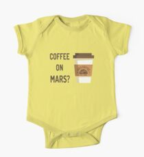 Coffee on Mars? One Piece - Short Sleeve