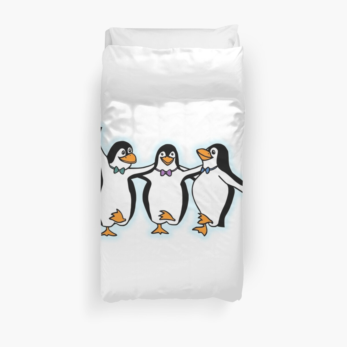 Penguin, Party, Dancing, Cartoon, FUN, Funny by TOM HILL - Designer