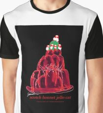 Scotch Bonnet Jello Cat, tony fernandes Graphic T-Shirt