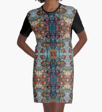 Spirit Vine Graphic T-Shirt Dress