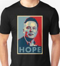 """Elon Musk """"Hope"""" Poster T-Shirt"""