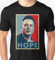 """Elon Musk """"Hoffnung"""" Poster Unisex T-Shirt"""