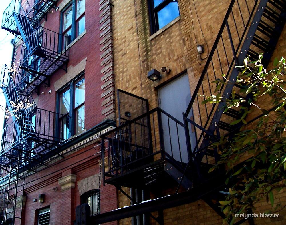fire escape 2 by melynda blosser
