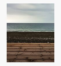 Seascape in layers Photographic Print