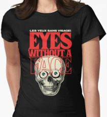 The Eyes Womens Fitted T-Shirt
