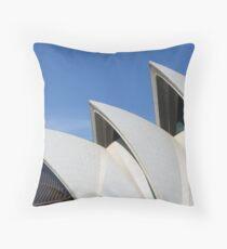 Sydney Opera House rooftop Throw Pillow