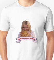 Leslie Knope - Waffles are a woman's best friend Unisex T-Shirt