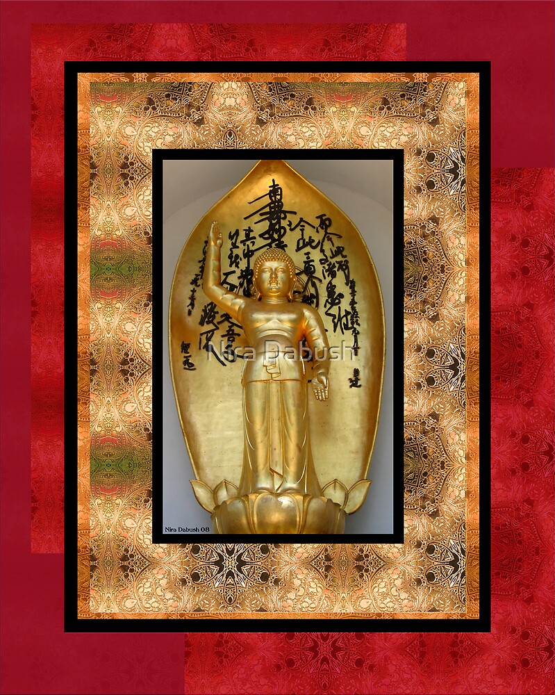 Golden Budda by Nira Dabush