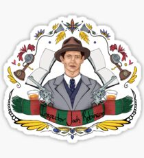 Detective Inspector Jack Robinson Sticker