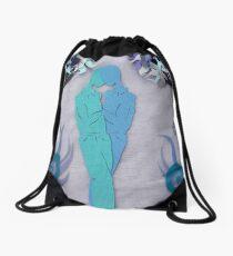 Winter Kiss #1 Drawstring Bag