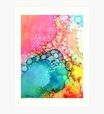 Cotton Candy Bubble Art Print