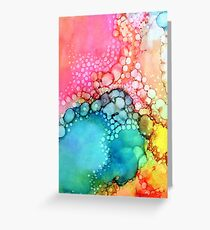Cotton Candy Bubble Greeting Card