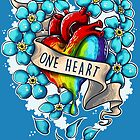One Heart by Gilles Bone