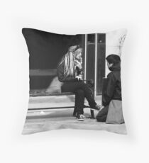 Me marry you? Throw Pillow