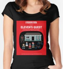 Eleven's Quest Women's Fitted Scoop T-Shirt