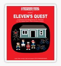 Eleven's Quest Sticker