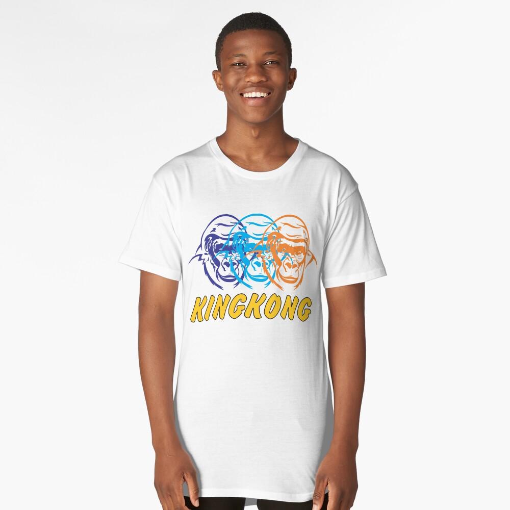 king kong Long T-Shirt Front