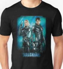 Valerian and Laureline The Space Agent T-Shirt