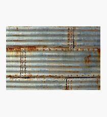 corrugated Photographic Print