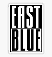 Proud of East Blue! Sticker