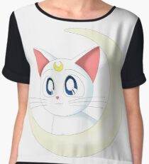 Sailor Moon Crescent Artemis Women's Chiffon Top