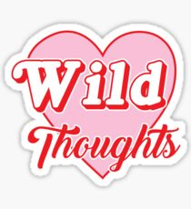 Wild Thoughts Sticker