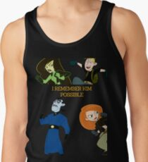 I Remember Kim Possible Tank Top